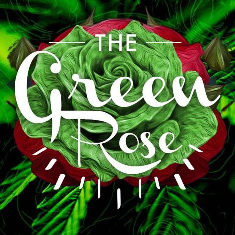 Картинки розы зелёные